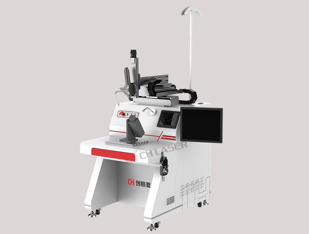 Special welding machine for eyeglasses