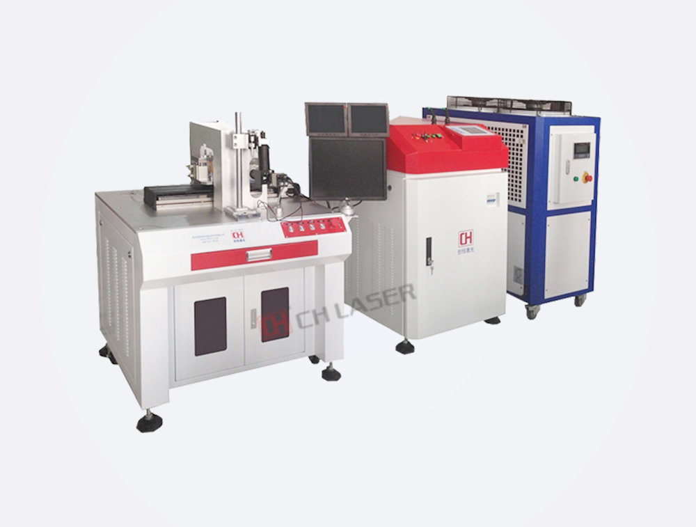 Double Optical Path Fiber Transmission Welding Machine